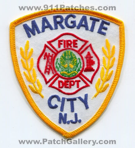 Margate City Fire Department Patch New Jersey NJ
