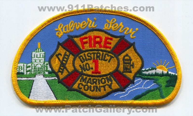 Marion County Fire District Number 1 Patch Oregon OR
