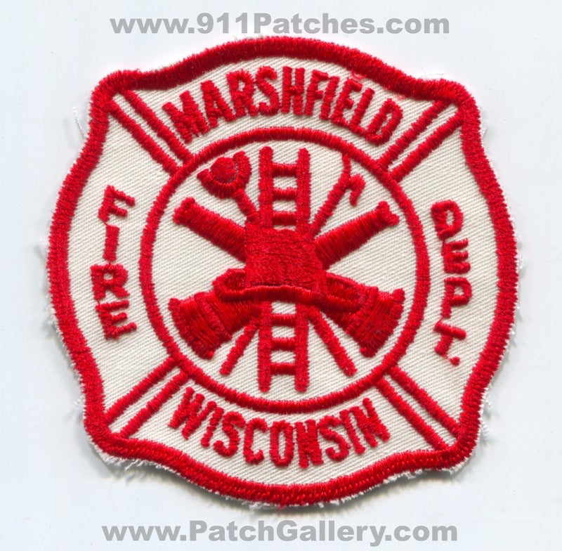 Marshfield Fire Department Patch Wisconsin WI