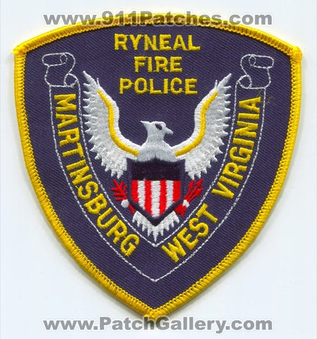 Ryneal Fire Police Department Martinsburg Patch West Virginia WV