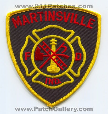 Martinsville Fire Department Patch Indiana IN