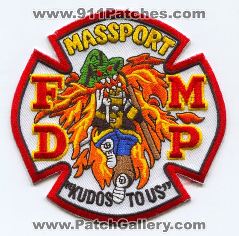 Massachusetts Port Authority Fire Department Patch Massachusetts MA
