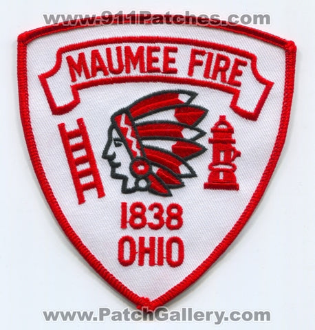 Maumee Fire Department Patch Ohio OH