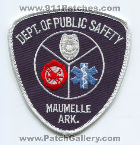 Maumelle Department of Public Safety DPS Fire EMS Police Patch Arkansas AR