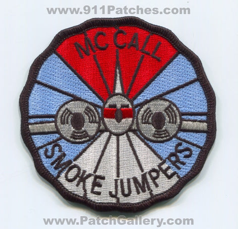McCall Smoke Jumpers Forest Fire Wildfire Wildland Patch Idaho ID