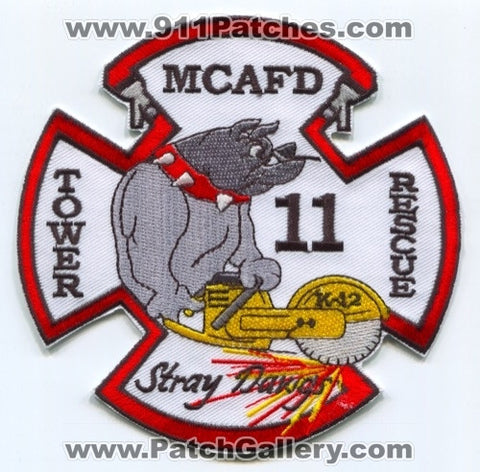 Meadowood County Area Fire Department Station 11 Patch New Hampshire NH