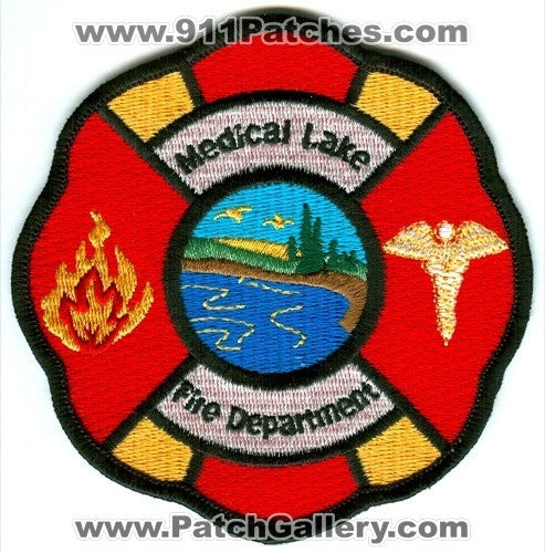Medical Lake Fire Department Patch Washington WA