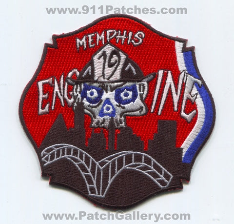 Memphis Fire Department Engine 19 Patch Tennessee TN