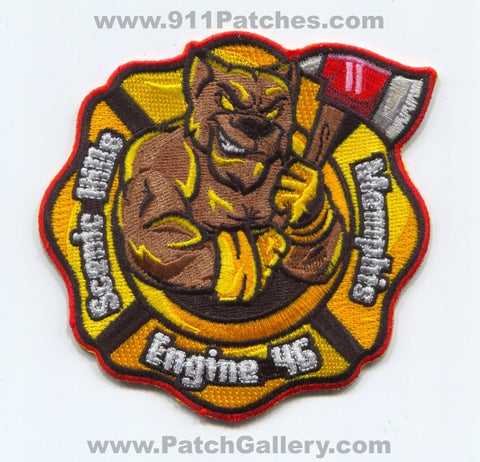 Memphis Fire Department Engine 46 Patch Tennessee TN