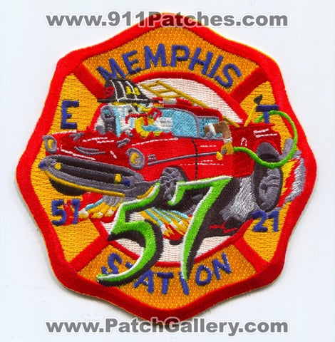 Memphis Fire Department Engine 57 Truck 21 Patch Tennessee TN