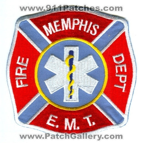 Memphis Fire Department EMT EMS Patch Tennessee TN