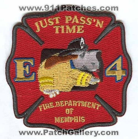 Memphis Fire Department Engine 4 Patch Tennessee TN