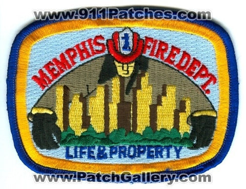 Memphis Fire Department Patch Tennessee TN