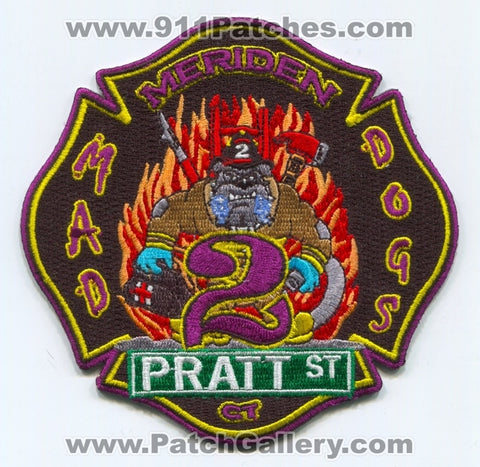 Meriden Fire Department Station 2 Patch Connecticut CT