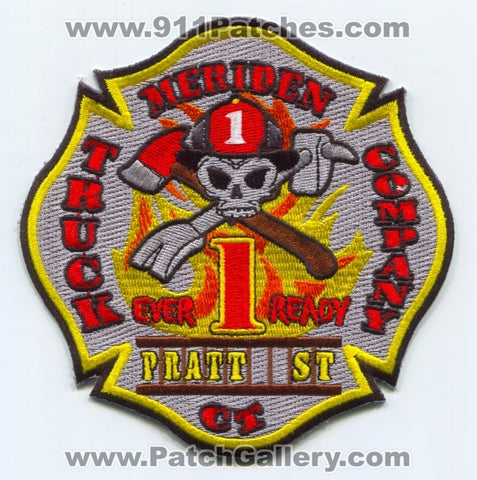 Meriden Fire Department Truck Company 1 Patch Connecticut CT