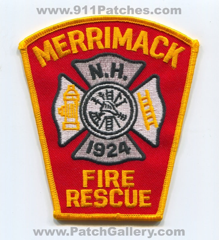 Merrimack Fire Rescue Department Patch New Hampshire NH