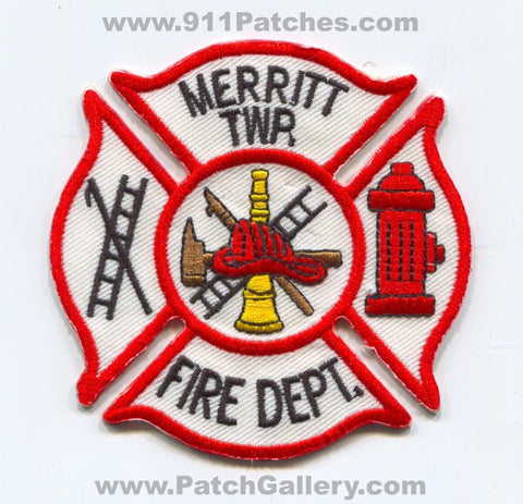 Merritt Township Fire Department Patch Michigan MI