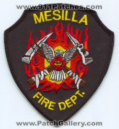 Mesilla Fire Department Patch New Mexico NM