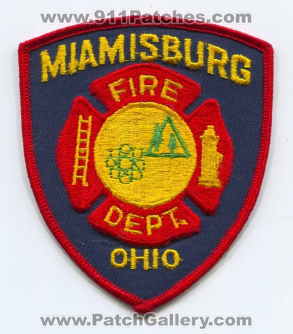 Miamisburg Fire Department Patch Ohio OH