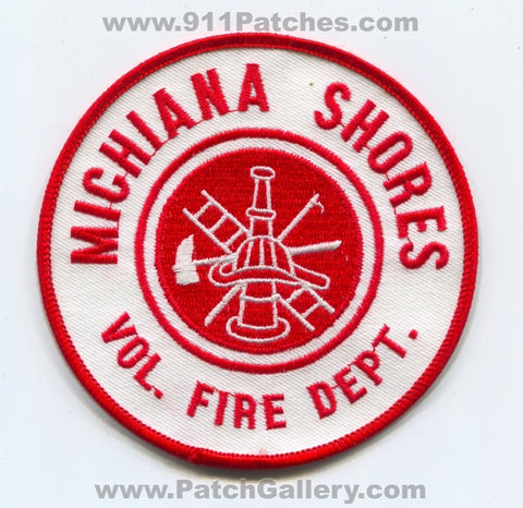 Michiana Shores Volunteer Fire Department Patch Indiana IN
