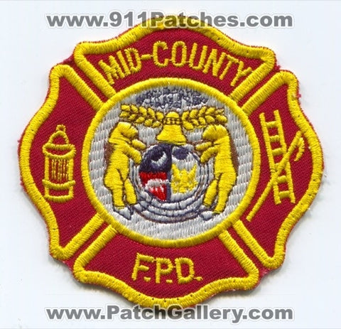 Mid-County Fire Protection District Patch Missouri MO