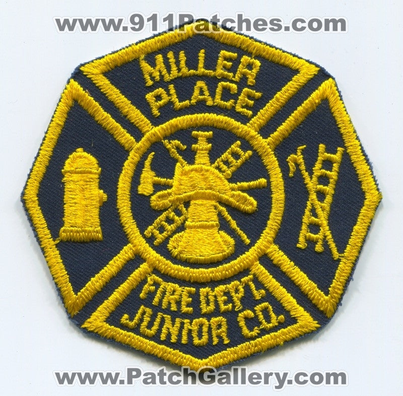 Miller Place Fire Department Junior Company Patch New York NY