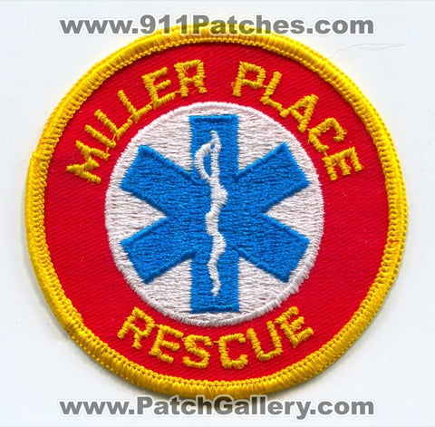 Miller Place Rescue EMS Patch New York NY