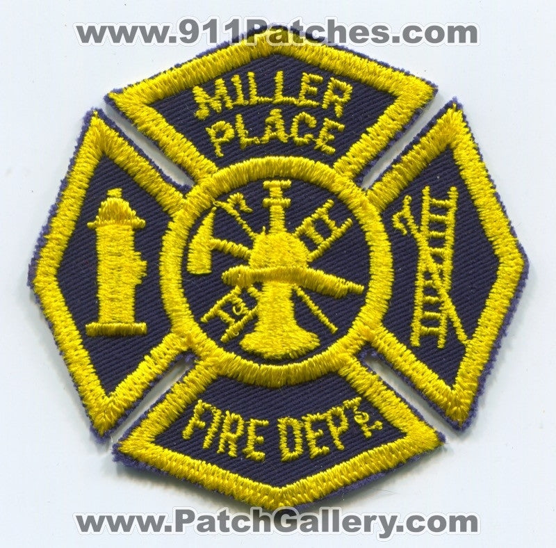 Miller Place Fire Department Patch New York NY