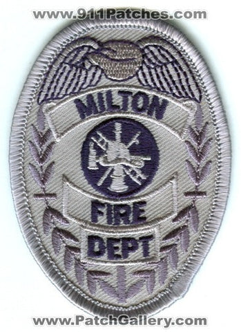Milton Fire Department Patch Washington WA