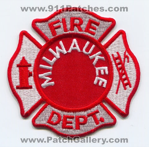 Milwaukee Fire Department Patch Wisconsin WI