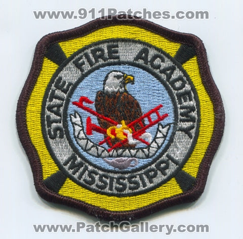 Mississippi State Fire Academy Patch Mississippi MS