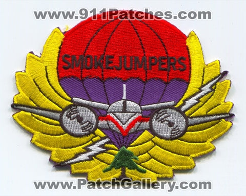 Missoula Smokejumpers Forest Fire Wildfire Wildland Patch Montana MT