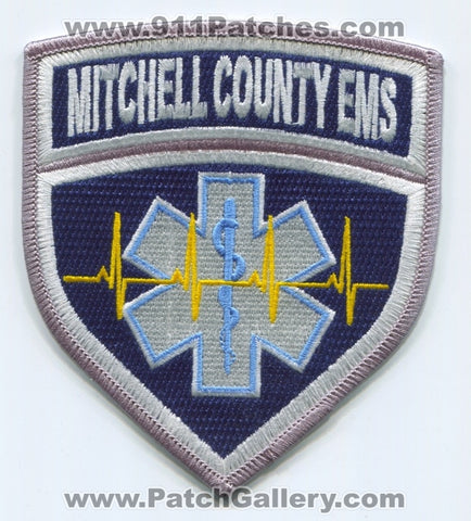 Mitchell County Emergency Medical Services EMS Patch Kansas KS