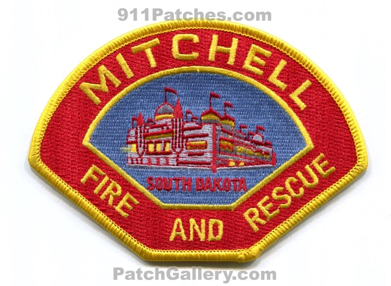 Mitchell Fire and Rescue Department Patch South Dakota SD