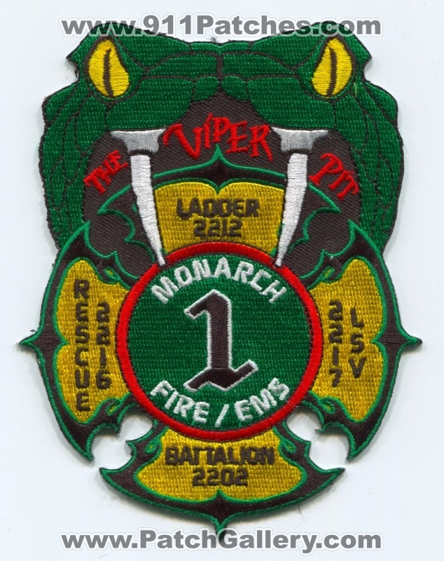 Monarch Fire Protection District House 1 Patch Missouri MO