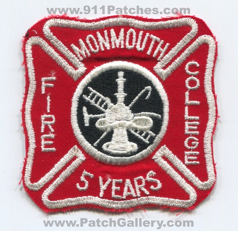 Monmouth Fire College 5 Years Patch New Jersey NJ