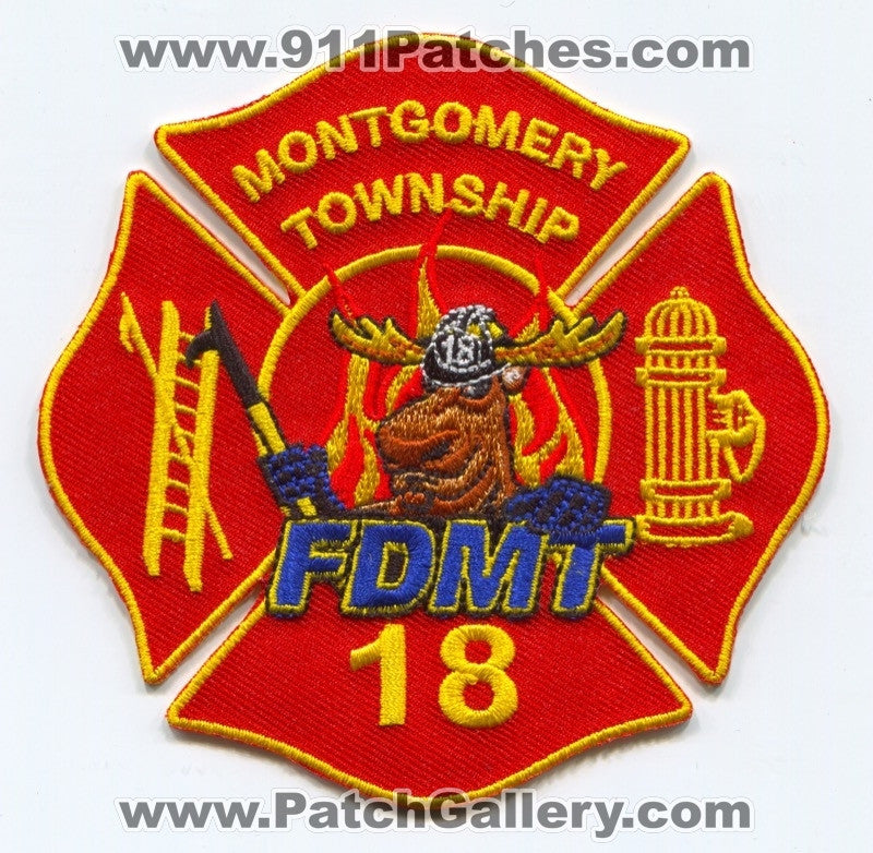 Montgomery Township Fire Department 18 Patch Pennsylvania PA