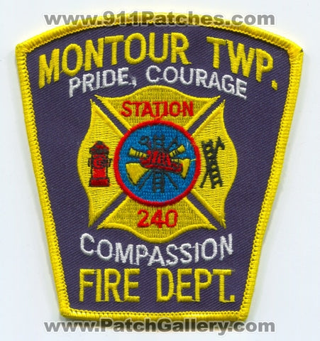 Montour Township Fire Department Station 240 Patch Pennsylvania PA