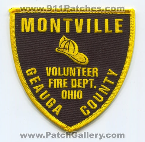 Montville Volunteer Fire Department Geauga County Patch Ohio OH