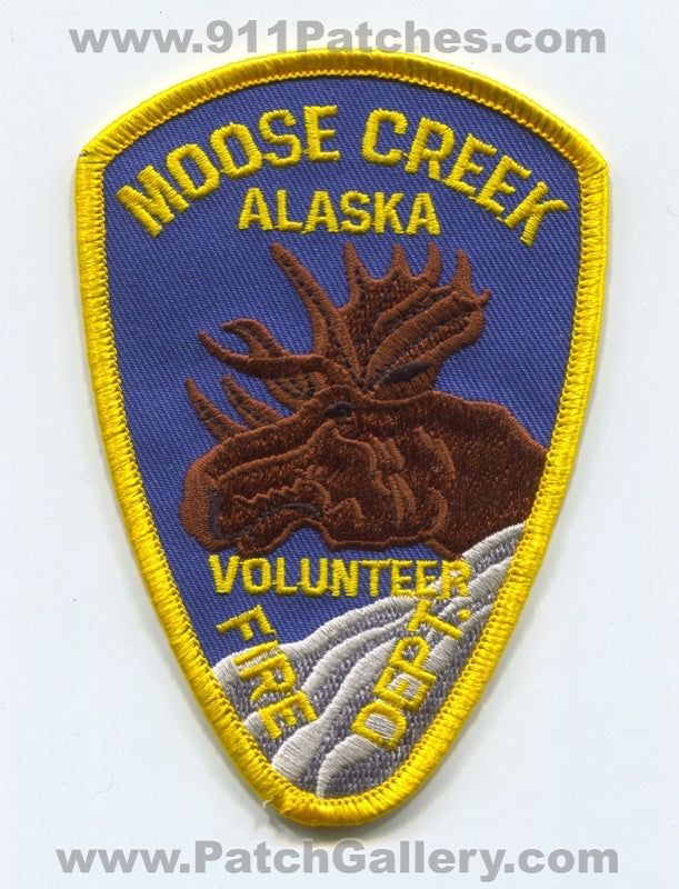 Moose Creek Volunteer Fire Department Patch Alaska AK