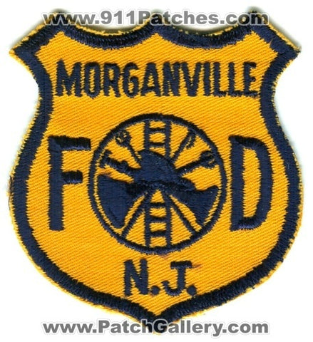 Morganville Fire Department Patch New Jersey NJ