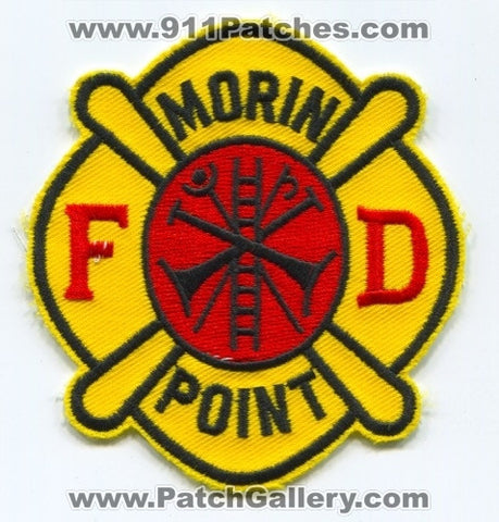 Morin Point Fire Department Patch Michigan MI