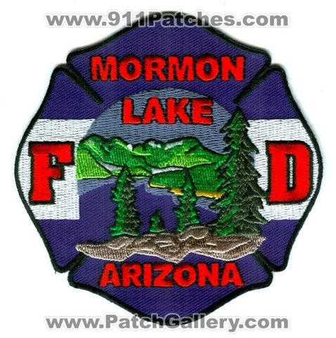 Mormon Lake Fire Department Patch Arizona AZ