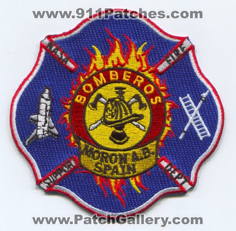 Spain - Moron Air Base AB NASA Support Fire Department Patch