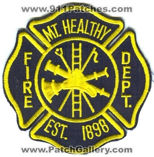 Mount Healthy Fire Department Patch Ohio OH