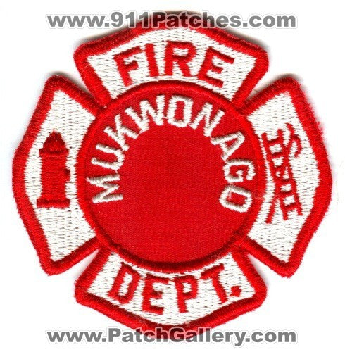 Mukwonago Fire Department Patch Wisconsin WI