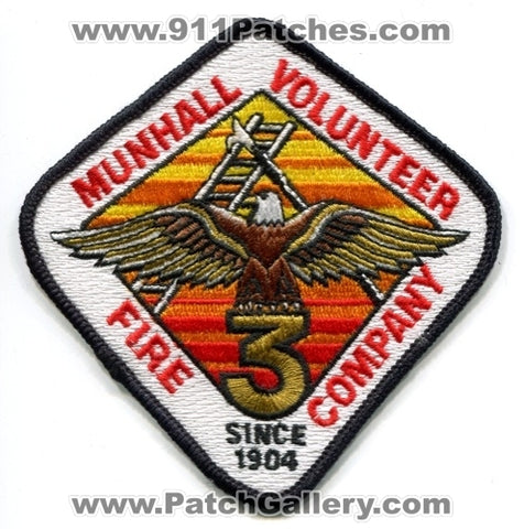 Munhall Volunteer Fire Company 3 Patch Pennsylvania PA