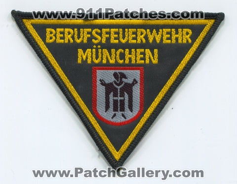 Germany - Munich Fire Department Patch