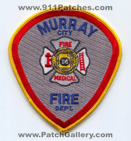 Murray City Fire Department Patch Utah UT