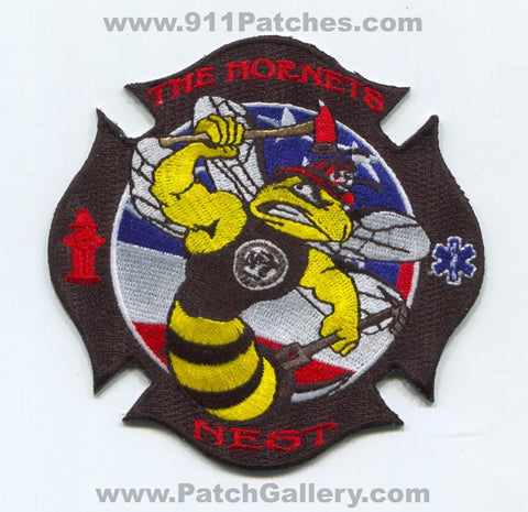 Naval Air Station NAS Oceana Fire Rescue Department Station 7 USN Navy Military Patch Virginia VA